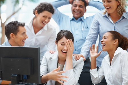 5 Ways Laughter Leaders Leap Productivity